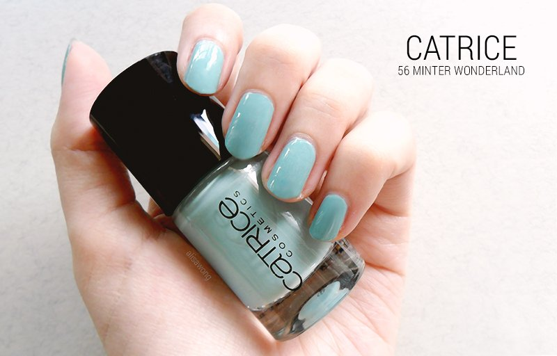 Catrice Nail Polish 56 Minter Wonderland Swatch
