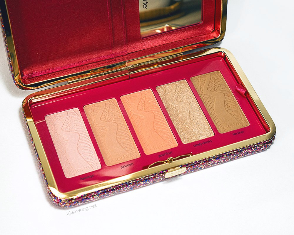 Tarte Life of the Party Clay Blush Palette and Clutch Review and Swatches